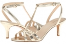 Gold Synthetic Nine West Gissella for Women (Size 7)