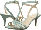Green Leather Nine West Gissella for Women (Size 7)