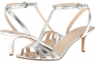 Silver Synthetic Nine West Gissella for Women (Size 7)