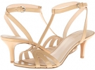 Light Natural Leather Nine West Gissella for Women (Size 7)