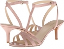 Pink Leather Nine West Gissella for Women (Size 7)