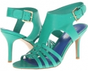 Green Leather Nine West Guadalupe for Women (Size 7)