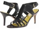 Black Leather Nine West Guadalupe for Women (Size 7)