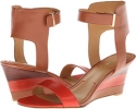 Cognac/Orange Leather Nine West Radefade for Women (Size 7)