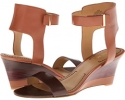 Cognac/Brown Leather Nine West Radefade for Women (Size 7)
