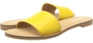 Yellow Leather Nine West Summers for Women (Size 7)