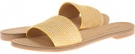 Yellow Multi/White Fabric Nine West Summers for Women (Size 7)