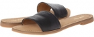 Black Leather Nine West Summers for Women (Size 7)