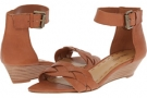 Cognac Leather Nine West Valci for Women (Size 7)