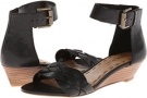 Black Leather Nine West Valci for Women (Size 7)