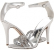 Silver Leather Nine West Sabrinna for Women (Size 7)