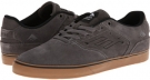 Grey/White/Gum Emerica The Reynolds Low Vulc for Men (Size 8)