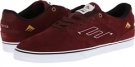 Burgundy/White Emerica The Reynolds Low Vulc for Men (Size 8)