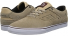 Tan/White Emerica The Reynolds Low Vulc for Men (Size 8)