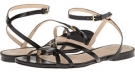 Black Cole Haan Jensen Flat Sandal for Women (Size 10)
