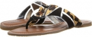 Leopard/Black CARLOS by Carlos Santana Allegra for Women (Size 7.5)