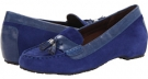 Cobalt/Cobalt/Academy VIONIC with Orthaheel Technology Florence Tassel Flat for Women (Size 7)