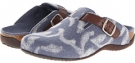 Blue VIONIC with Orthaheel Technology Flores Textile Mule for Women (Size 7)