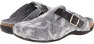 Grey VIONIC with Orthaheel Technology Flores Textile Mule for Women (Size 7)