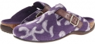 Purple VIONIC with Orthaheel Technology Flores Textile Mule for Women (Size 7)