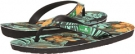 Black/Green Tropic Sanuk Palm Diggity for Men (Size 10)