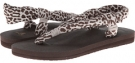 Cheetah Sanuk Yoga Slingshot Prints for Women (Size 6)
