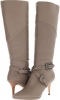 Taupe Leather CARLOS by Carlos Santana Crusoe for Women (Size 9)