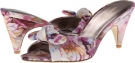 Pink Multi Fabric Nine West Anesa for Women (Size 7)