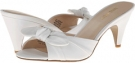 White Leather Nine West Anesa for Women (Size 7)