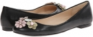 Black Leather Nine West Okeanos for Women (Size 7)