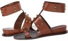 Sepia Calfskin Delman Marla for Women (Size 7)