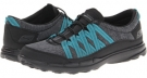 Black/Teal SKECHERS Performance GoSleek - Rush for Women (Size 7.5)