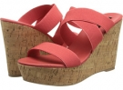 Coral Fabric Steven Freezee for Women (Size 7)