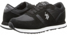Black U.S. POLO ASSN. Jayne for Women (Size 7)
