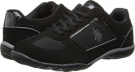 Black/Grey U.S. POLO ASSN. Monaco for Women (Size 7)