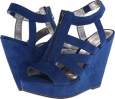 Blue Fabric CARLOS by Carlos Santana Kaila for Women (Size 7.5)