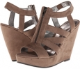 Grey Fabric CARLOS by Carlos Santana Kaila for Women (Size 8.5)