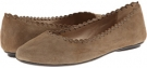 Dark Coach Tan Ecco Suede Vaneli Berry for Women (Size 9)