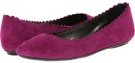 Dark Violet Ecco Suede Vaneli Berry for Women (Size 4.5)