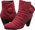 Red Ecco Suede Vaneli Jillian for Women (Size 4.5)