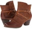 Auburn Leather Bare Traps Roma for Women (Size 6.5)