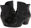 Black Leather Bare Traps Roma for Women (Size 9)