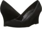 Black Ecco Suede/Mtch Elastic Vaneli Udara for Women (Size 4)