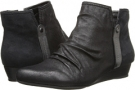 Black Fabric Bare Traps Lamey for Women (Size 6.5)