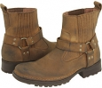 Dark Tan Stone Oil Leather RJ Colt Minor for Men (Size 10.5)