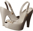 Grey Melissa Shoes Melissa Ultragirl Heel Special for Women (Size 5)