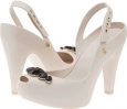 Beige Melissa Shoes Melissa Ultragirl Heel Special for Women (Size 5)
