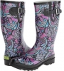 Boho Floral Boot Women's 6