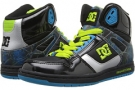 Black/Turquoise/Soft Lime DC Rebound Hi LE W for Women (Size 7)