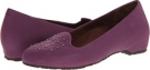 Purple VIONIC with Orthaheel Technology Chelsea Casual Flat for Women (Size 7)